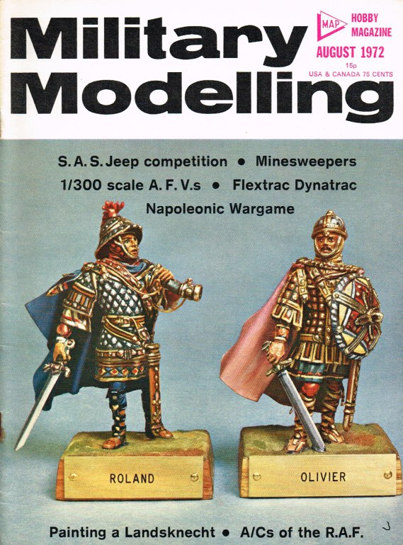 Image for MILITARY MODELLING VOLUME 2: ISSUE NO.8: AUGUST 1972