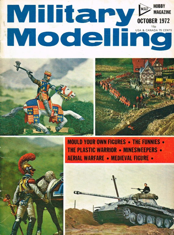 Image for MILITARY MODELLING VOLUME 2: ISSUE NO.10: OCTOBER 1972
