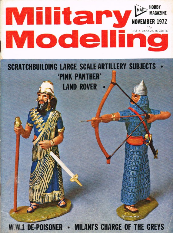 Image for MILITARY MODELLING VOLUME 2: ISSUE NO.11: NOVEMBER 1972