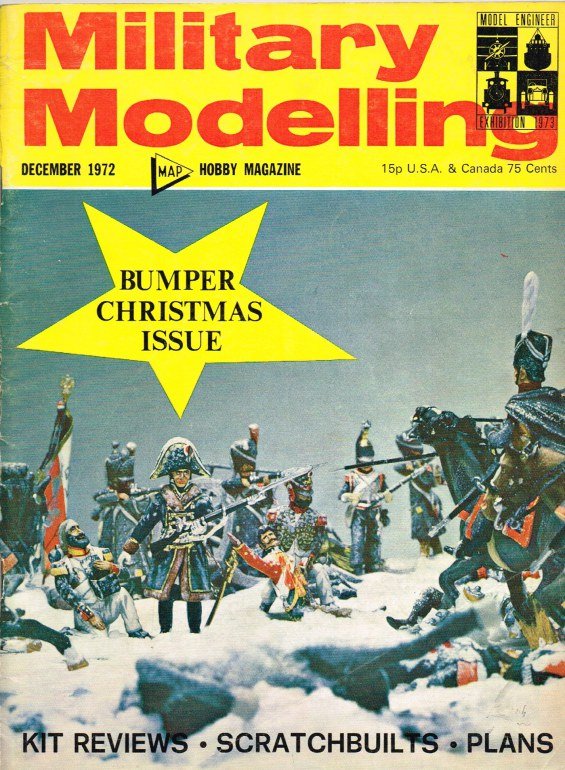 Image for MILITARY MODELLING VOLUME 2: ISSUE NO.12: DECEMBER 1972
