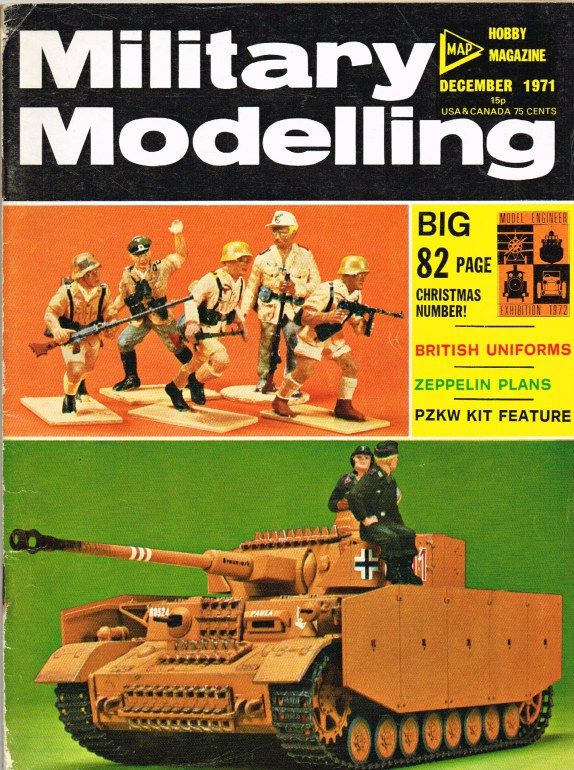 Image for MILITARY MODELLING VOLUME 1: ISSUE NO.12: DECEMBER 1971