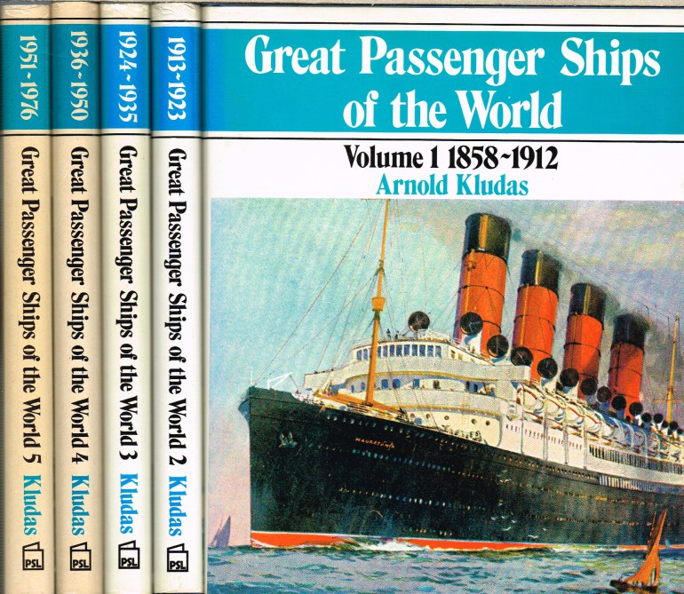 Image for GREAT PASSENGER SHIPS OF THE WORLD (FIVE VOLUME SET)