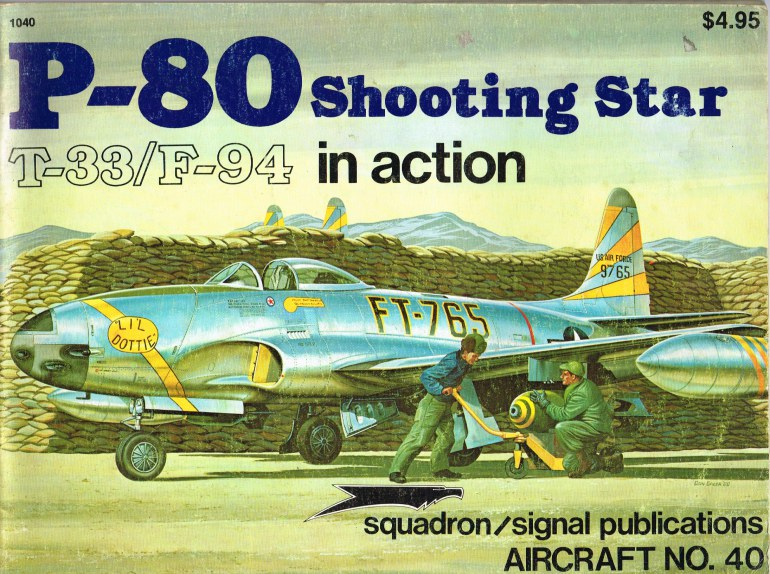 Image for P-80 SHOOTING STAR T-33/F-94 IN ACTION
