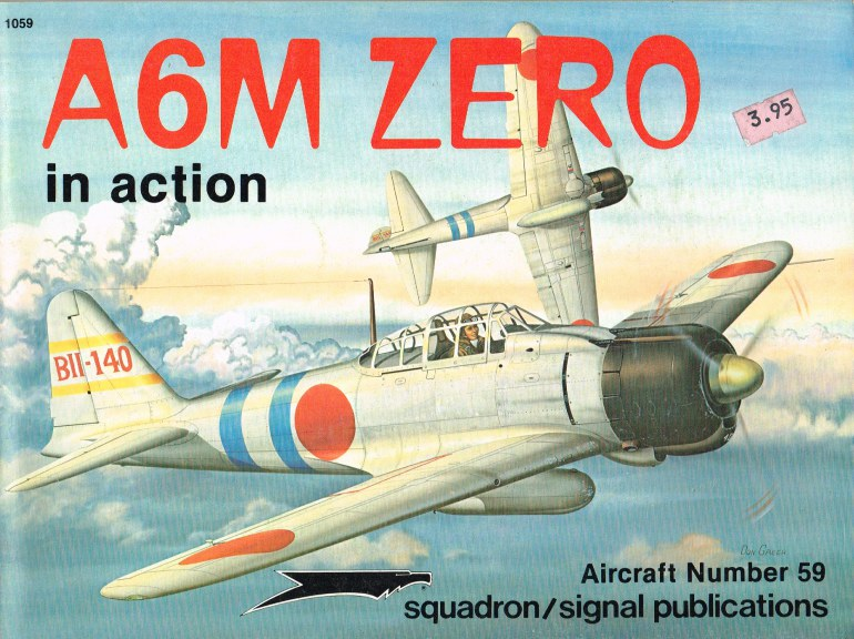 Image for A6M ZERO IN ACTION