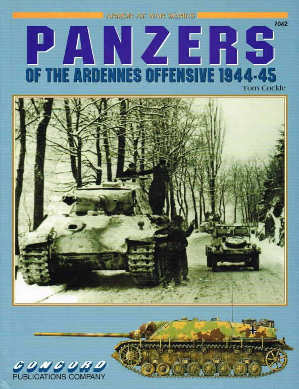 Image for PANZERS OF THE ARDENNES OFFENSIVE 1944-45