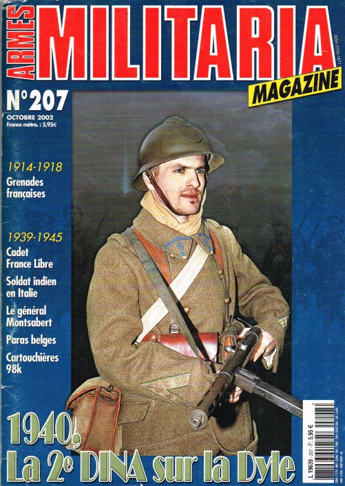 Image for ARMES MILITARIA MAGAZINE NO. 207 (FRENCH TEXT)