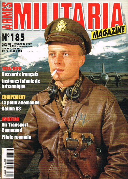 Image for ARMES MILITARIA MAGAZINE NO. 185 (FRENCH TEXT)