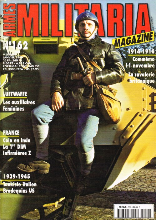 Image for ARMES MILITARIA MAGAZINE NO. 162 (FRENCH TEXT)