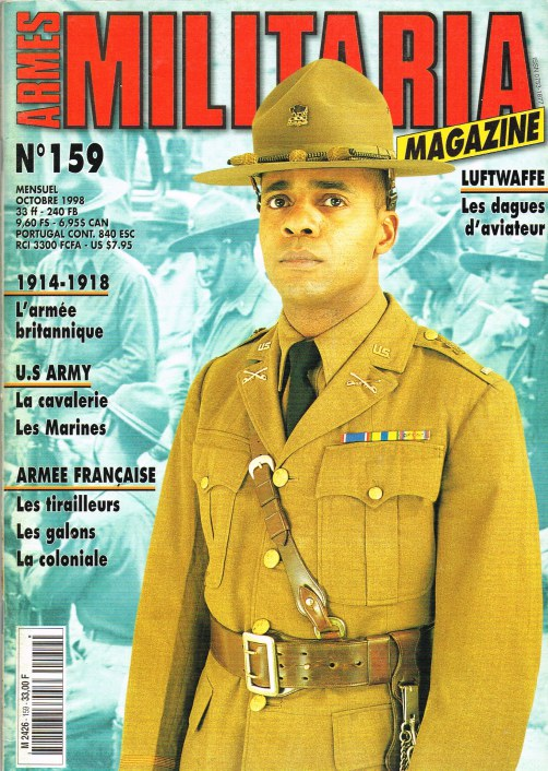Image for ARMES MILITARIA MAGAZINE NO. 159 (FRENCH TEXT)