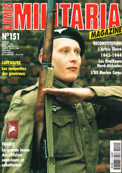 Image for ARMES MILITARIA MAGAZINE NO. 151 (FRENCH TEXT)