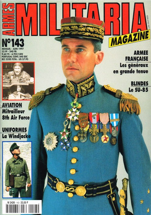 Image for ARMES MILITARIA MAGAZINE NO. 143 (FRENCH TEXT)