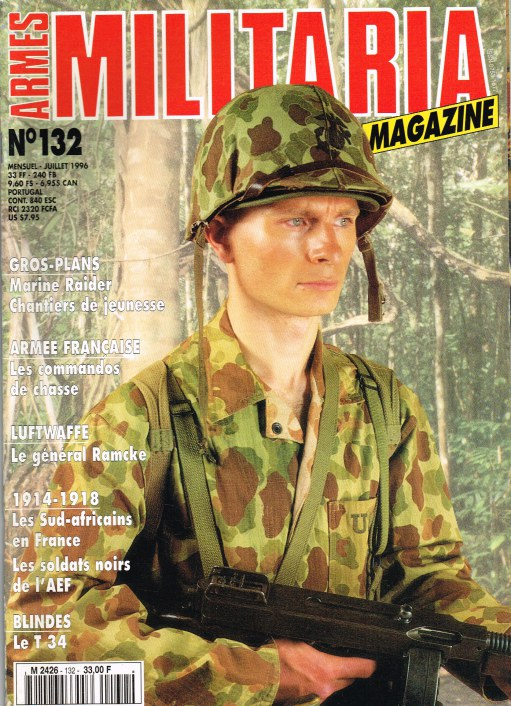 Image for ARMES MILITARIA MAGAZINE NO. 132 (FRENCH TEXT)