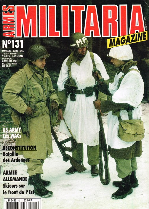 Image for ARMES MILITARIA MAGAZINE NO. 131 (FRENCH TEXT)