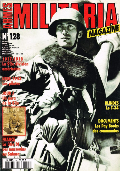 Image for ARMES MILITARIA MAGAZINE NO. 128 (FRENCH TEXT)