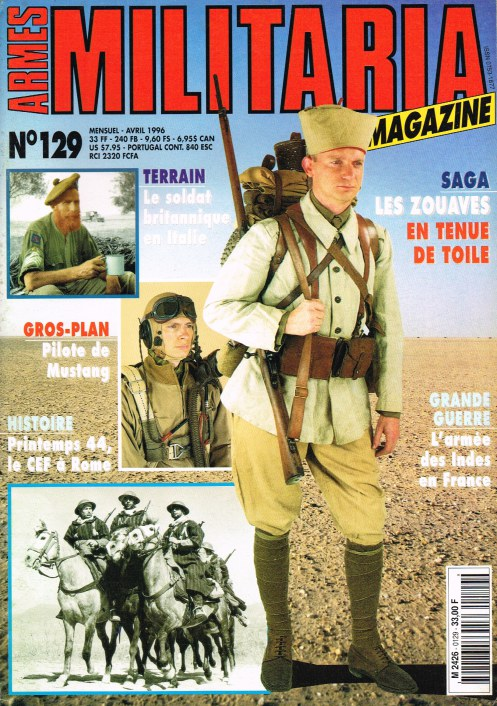 Image for ARMES MILITARIA MAGAZINE NO. 129 (FRENCH TEXT)
