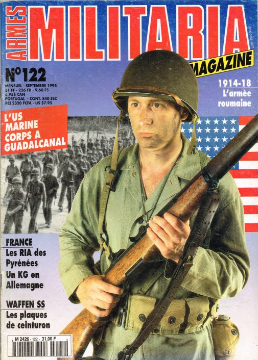 Image for ARMES MILITARIA MAGAZINE NO. 122 (FRENCH TEXT)