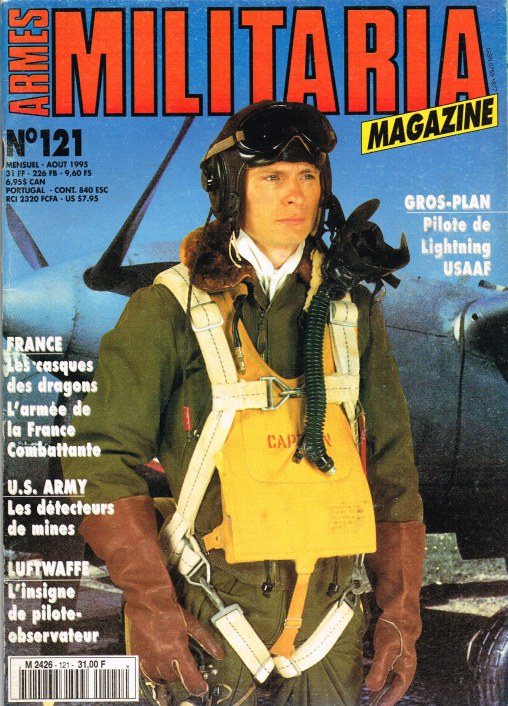 Image for ARMES MILITARIA MAGAZINE NO. 121 (FRENCH TEXT)