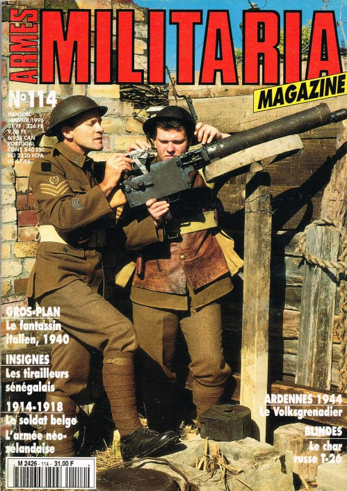 Image for ARMES MILITARIA MAGAZINE NO. 114 (FRENCH TEXT)
