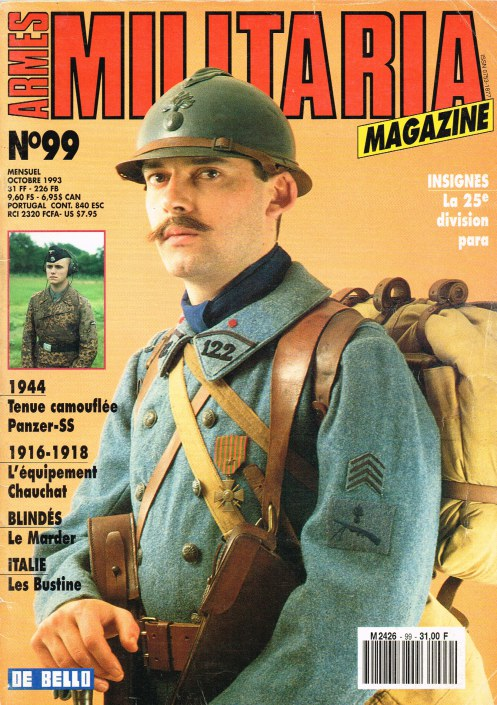 Image for ARMES MILITARIA MAGAZINE NO. 99 (FRENCH TEXT)