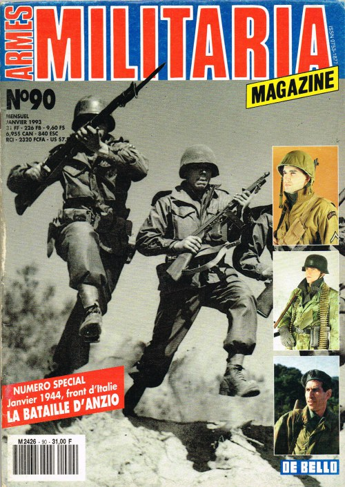 Image for ARMES MILITARIA MAGAZINE NO. 90 (FRENCH TEXT)