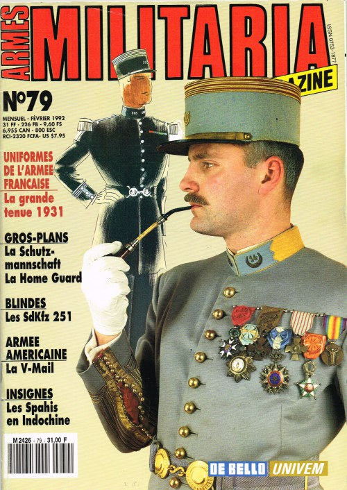 Image for ARMES MILITARIA MAGAZINE NO. 79 (FRENCH TEXT)