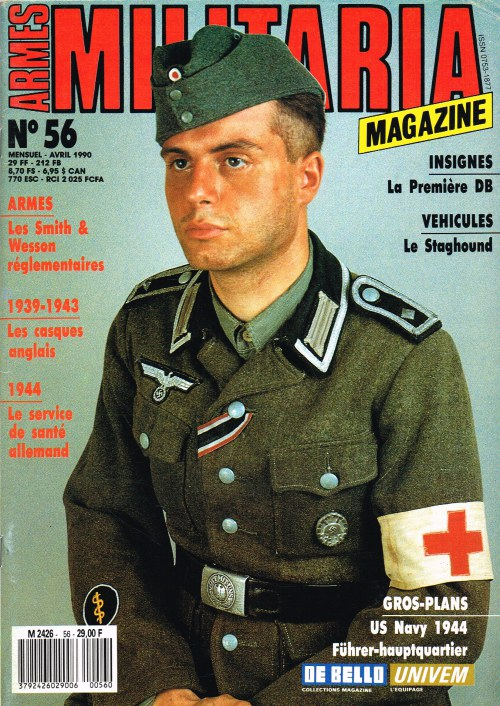 Image for ARMES MILITARIA MAGAZINE NO. 56 (FRENCH TEXT)