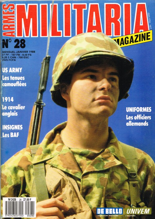 Image for ARMES MILITARIA MAGAZINE NO. 28 (FRENCH TEXT)
