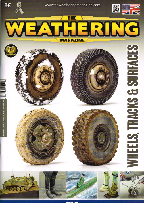 Image for THE WEATHERING MAGAZINE ISSUE 25: WHEELS, TRACKS & SURFACES