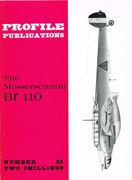 Image for PROFILE PUBLICATIONS NUMBER 23: THE MESSERSCHMITT BF 110