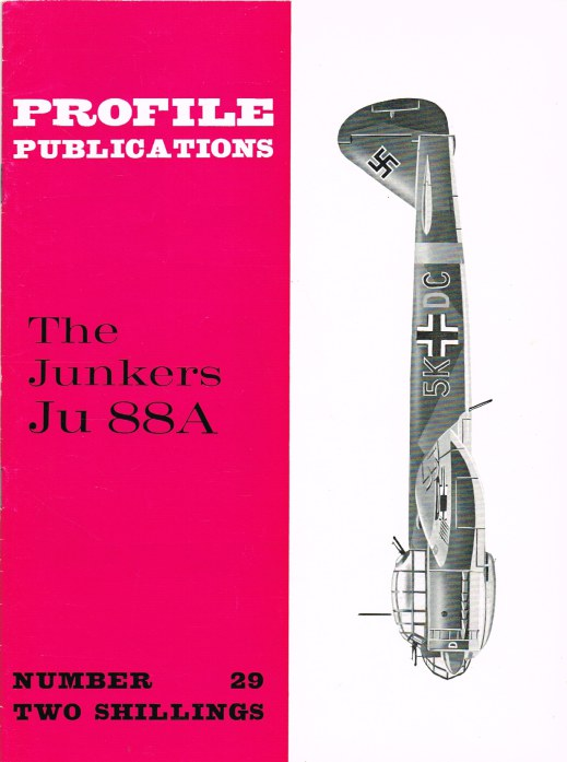 Image for PROFILE PUBLICATIONS NUMBER 29: THE JUNKERS JU 88A
