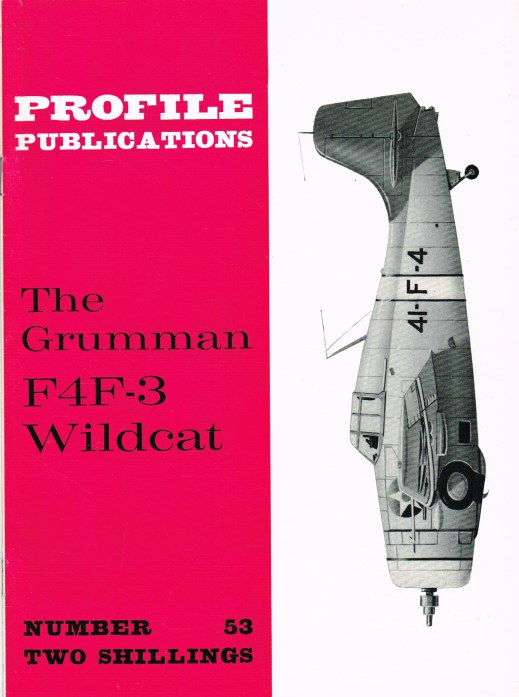 Image for PROFILE PUBLICATIONS NUMBER 53: THE GRUMMAN F4F-3 WILDCAT