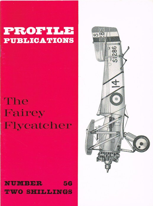 Image for PROFILE PUBLICATIONS NUMBER 56: THE FAIREY FLYCATCHER