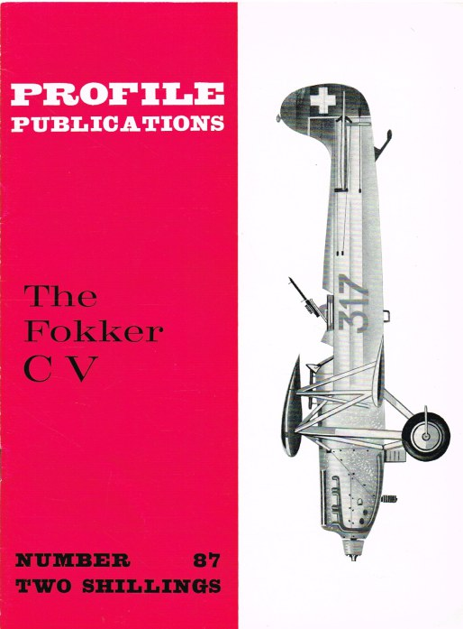 Image for PROFILE PUBLICATIONS NUMBER 87: THE FOKKER C V