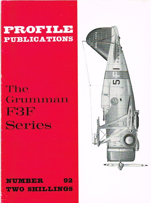 Image for PROFILE PUBLICATIONS NUMBER 92: THE GRUMMAN F3F SERIES