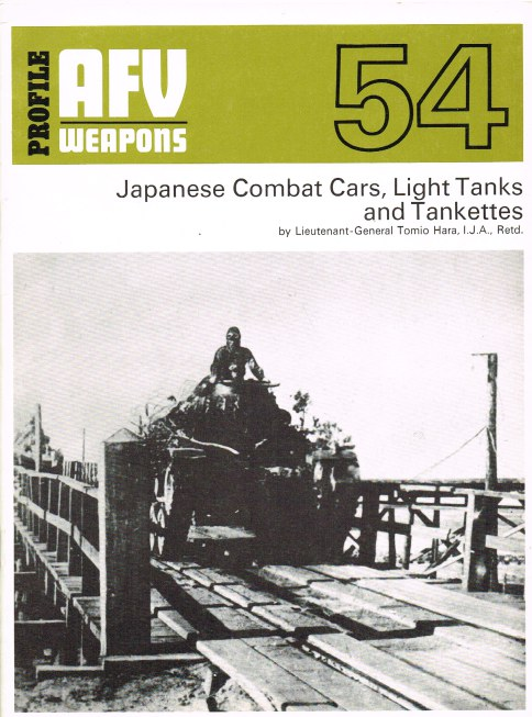 Image for PROFILE AFV 54: JAPANESE COMBAT CARS, LIGHT TANKS AND TANKETTES