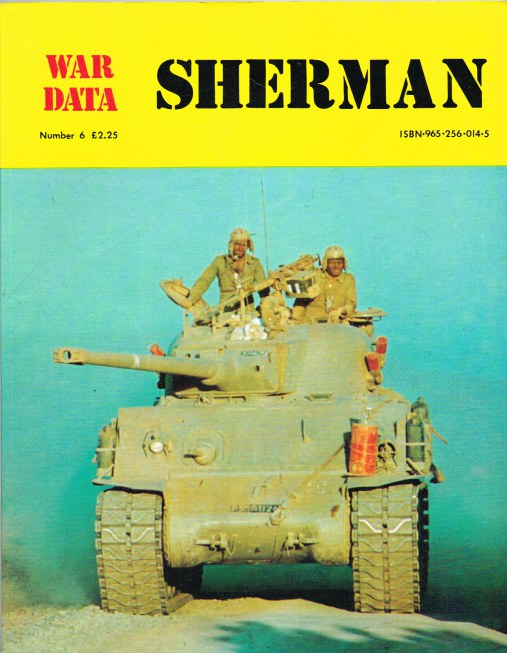 Image for WAR DATA NUMBER 6: SHERMAN