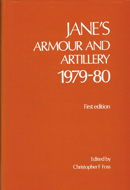 Image for JANE'S ARMOUR AND ARTILLERY 1979-80 (FIRST EDITION)
