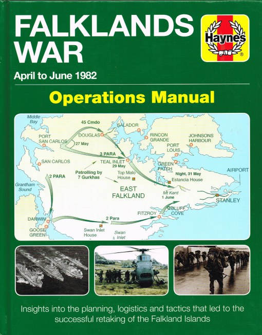 Image for FALKLANDS WAR OPERATIONS MANUAL : APRIL TO JUNE 1982
