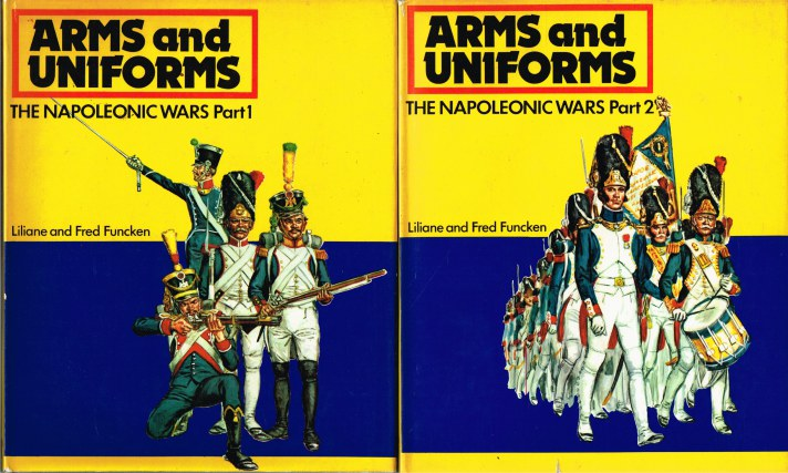 Image for ARMS AND UNIFORMS: THE NAPOLEONIC WARS (TWO VOLUME SET)