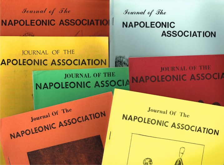 Image for JOURNAL OF THE NAPOLEONIC ASSOCIATION (22 ISSUES)