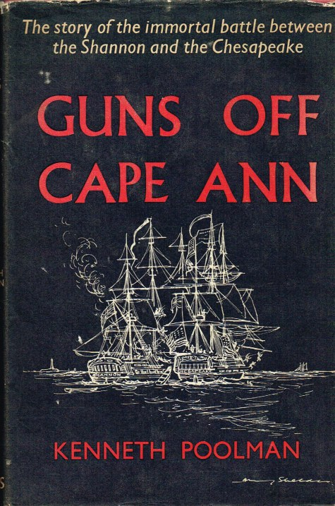 Image for GUNS OFF CAPE ANN : THE STORY OF THE SHANNON AND THE CHESAPEAKE