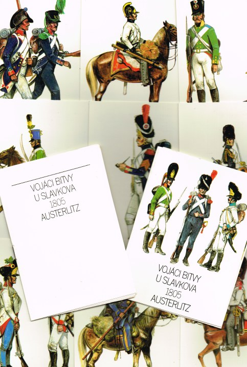Image for VOJACI BITVY U SLAVKOVA 1805 AUSTERLITZ (SET OF 12 POSTCARDS)