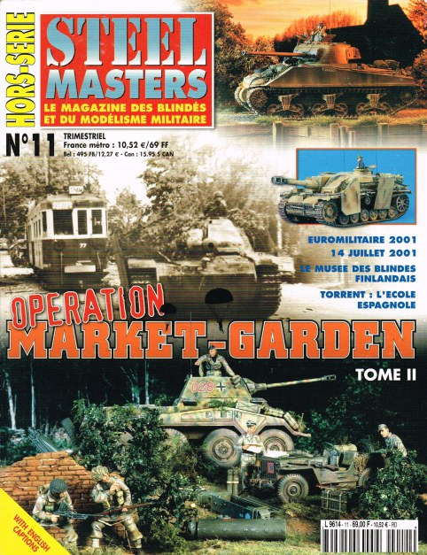 Image for STEEL MASTERS HORS-SERIE NO.11: OPERATION MARKET-GARDEN (TOME II)