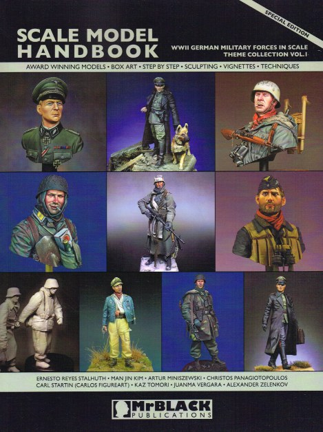 Image for SCALE MODEL HANDBOOK THEME COLLECTION VOLUME 1 : WWII GERMAN MILITARY FORCES IN SCALE