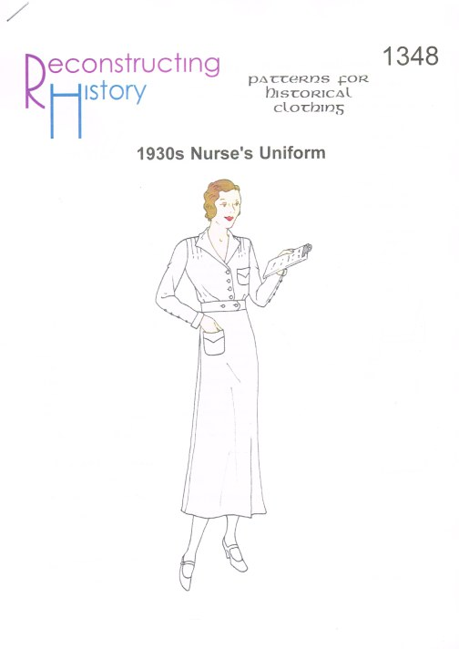 Image for RH1348: 1930S NURSE'S UNIFORM