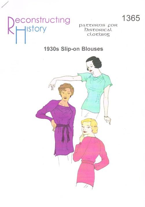 RH1365: 1930S SLIP-ON BLOUSE