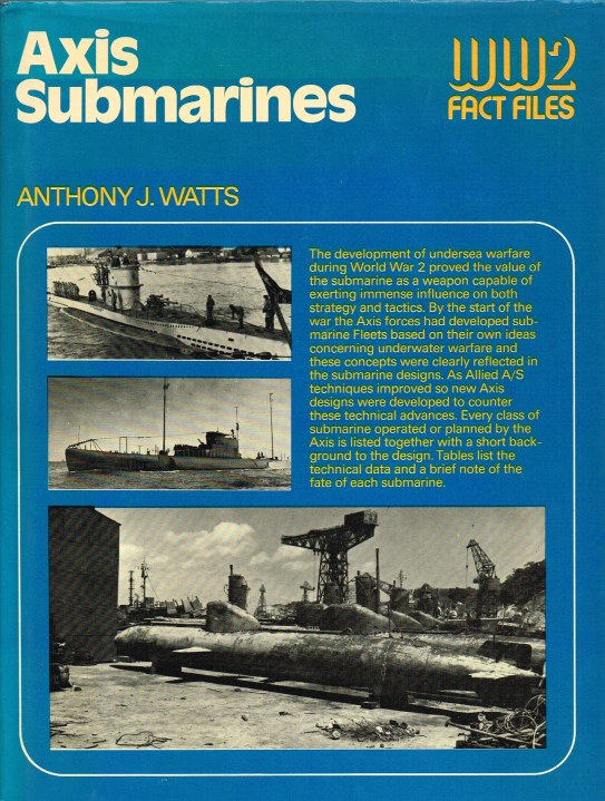 Image for WW2 FACT FILES: AXIS SUBMARINES