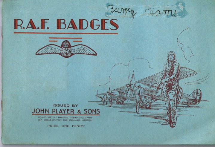 Image for R.A.F. BADGES (SET OF 50 CIGARETTE CARDS IN ALBUM)