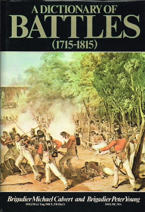 Image for A DICTIONARY OF BATTLES 1715-1815