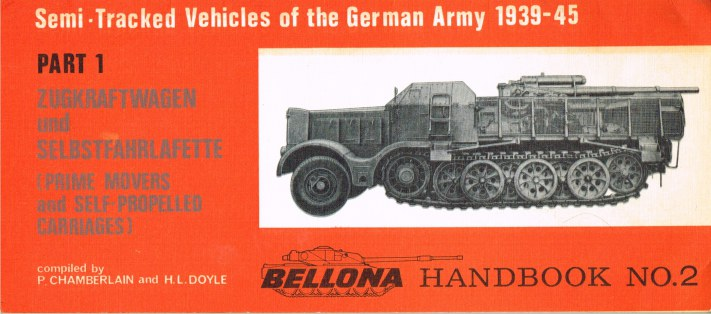 Image for SEMI-TRACKED VEHICLES OF THE GERMAN ARMY 1939-45: PART 1: ZUGKRAFTWAGEN UND SELBSTFAHRLAFETTE (PRIME MOVERS AND SELF-PROPELLED CARRIAGES)